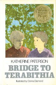 "Обложка книги Кэтрин Патерсон ""Мост в Терабитию"""
