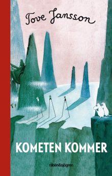 """Туве Янссон """"Муми-тролль и комета"""" (обложка книги)"""