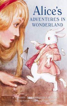 """Льюис Кэрролл """"Приключения Алисы в Стране чудес"""" (обложка книги)"""