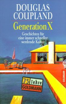 """Обложка книги """"Поколение Икс"""" Дугласа Коупленда"""