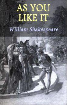 """Уильям Шекспир """"Как вам это понравится"""" (обложка)"""