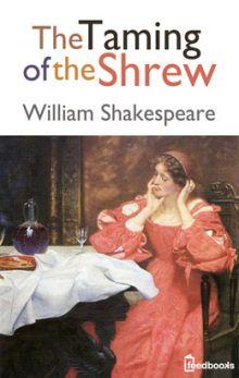 """Уильям Шекспир """"Укрощение строптивой"""" (обложка книги)"""