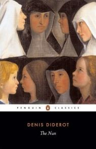 """Обложка книги """"Монахиня"""" Дени Дидро"""