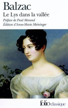 """Оноре де Бальзак """"Лилия долины"""" (обложка)"""