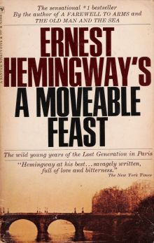 """Эрнест Хемингуэй """"Праздник, который всегда с тобой"""" (обложка)"""