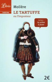 Жан-Батист Мольер «Тартюф» (обложка)
