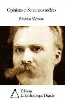"""Фридрих Ницше """"Смешанные мнения и изречения"""" (обложка)"""