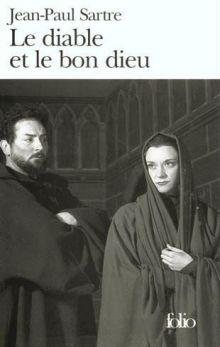 Жан-Поль Сартр - Дьявол и господь бог (обложка)