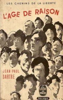 """Жан-Поль Сартр """"Возраст зрелости"""" (обложка)"""