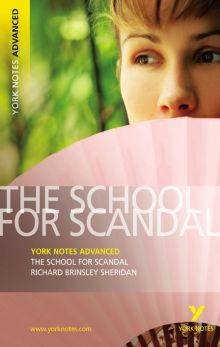 Ричард Шеридан - Школа злословия (обложка книги)