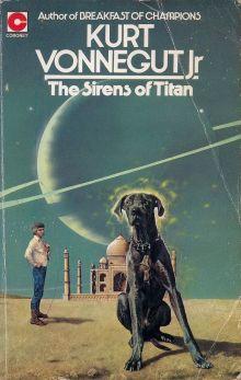 Курт Воннегут «Сирены Титана» (обложка)