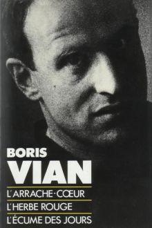Французская обложка сборника Бориса Виана